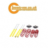 Mk1 Golf Lowering Springs & Damper Inserts With Top Mounts 40/40 Jetta, Scirocco